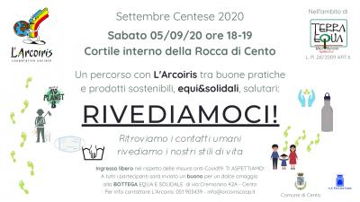 Leggi tutto: Rivediamoci! Evento alla Rocca di Cento - Terra Equa 2020