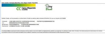 Leggi tutto: Donazione per la rinascita del centro Italia